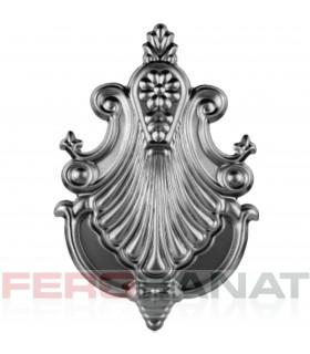 Decorative D22 rozeta elemente tabla premium din fier forjat balcon balustrada garduri