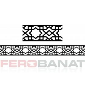 Decorative D49 elemente din tabla decupata laser fier forjat balcon balustrada garduri