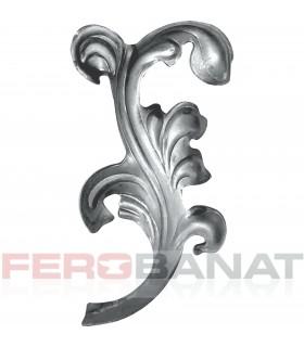 Frunza fier forjat Fr4 tabla elemente poarta usa balustrada