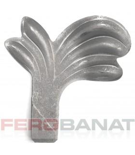 Frunza fier forjat Fr6P tabla elemente poarta usa balustrada premium