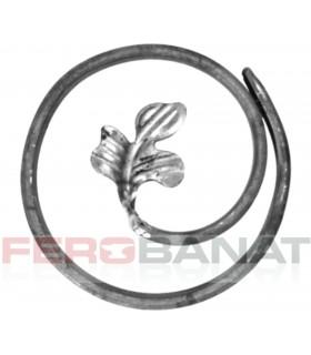 Cercuri melcate frunza C2f lis element din platbanda