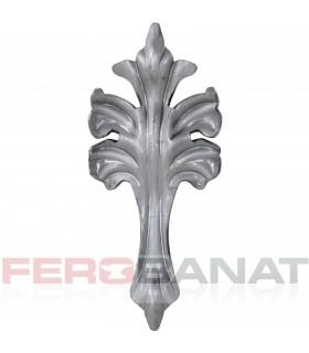 Frunza Fr59 tabla fier forjat elemente poarta usa balustrada